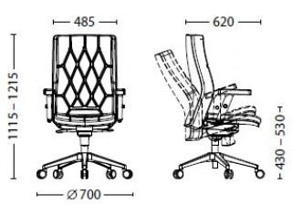 Характеристики: Крісло преміум: Chester