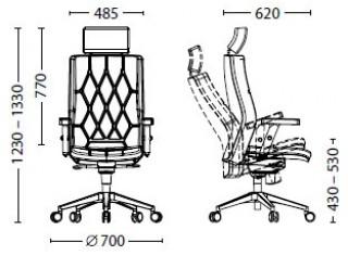 Характеристики: Крісло преміум: Chester HR