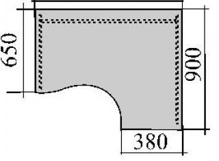Характеристики: Стіл комп'ютерний: SKD-02