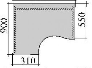 Характеристики: Стіл комп'ютерний: SKD-01