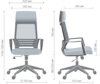 Характеристики: Крісло для персоналу: Twist